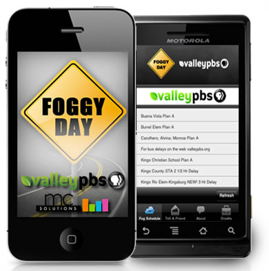 Foggy Day Schedule App
